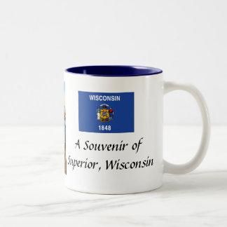 Superior, Wisconsin, Souvenir Mug