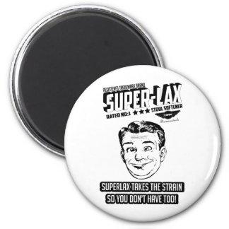 superlax vintage ad design png magnet