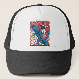 Superman 12 trucker hat