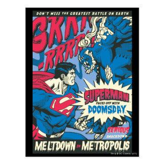 Superman 13 postcard