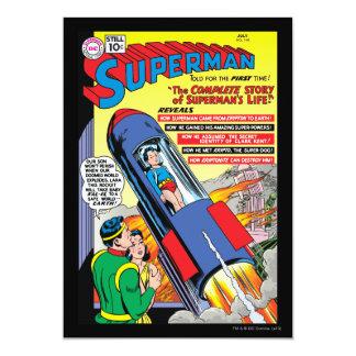 Superman #146 13 cm x 18 cm invitation card