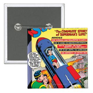 Superman #146 15 cm square badge