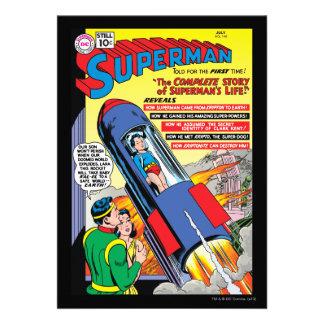 Superman #146 invites