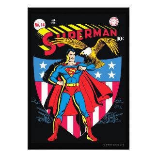 Superman 14 invites