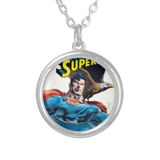 Superman #150 Nov 99 Silver Plated Necklace