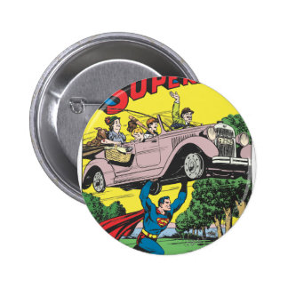 Superman #19 6 cm round badge