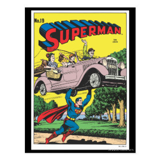 Superman #19 postcard