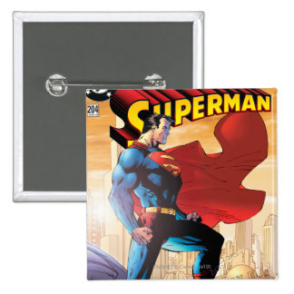 Superman #204 June 04 15 Cm Square Badge
