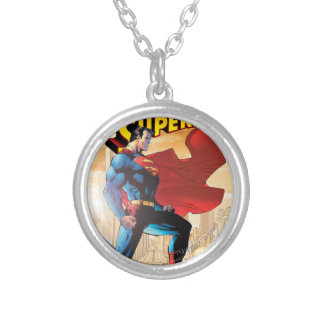 Superman #204 June 04 Silver Plated Necklace