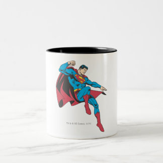 Superman 20 Two-Tone coffee mug