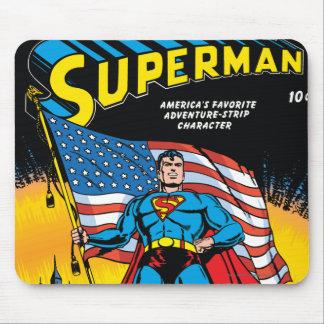 Superman #24 mouse mat