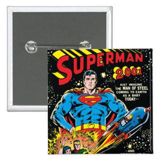 Superman #300 15 cm square badge