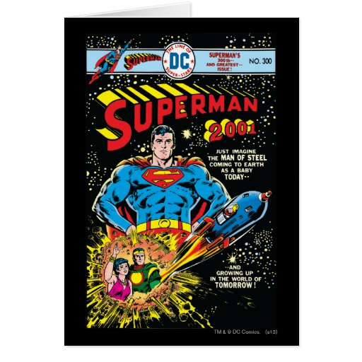 Superman #300 cards