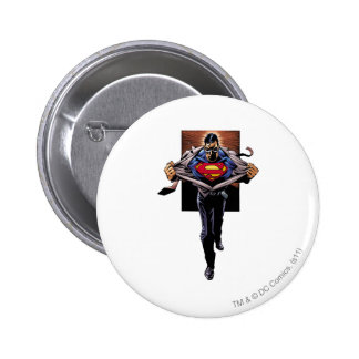 Superman 30 6 cm round badge