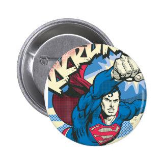 Superman 39 6 cm round badge