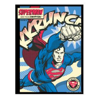 Superman 39 postcard