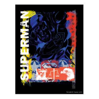 Superman 43 postcard