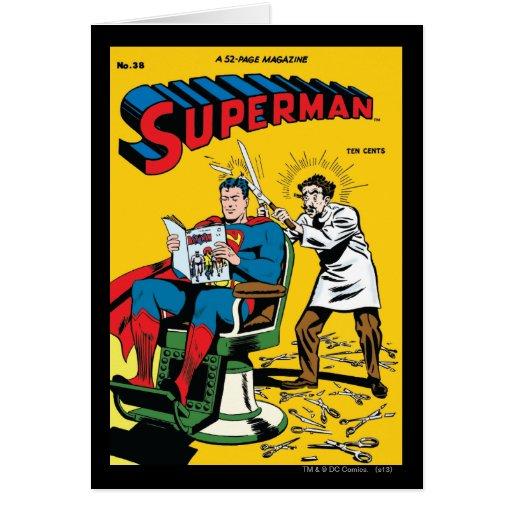 Superman #52 greeting cards