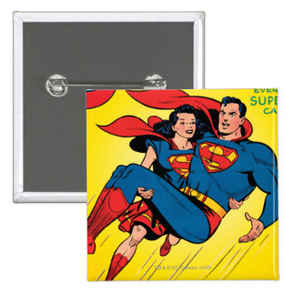 Superman #57 15 cm square badge