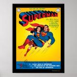 Superman #57 poster