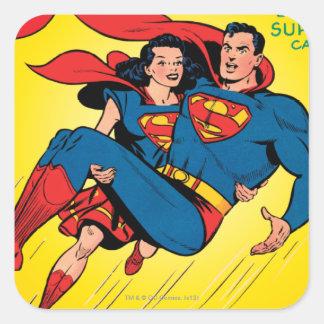 Superman #57 square sticker