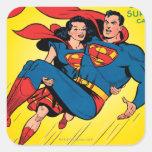 Superman #57 stickers