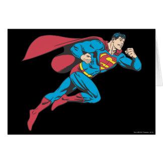 Superman 64 greeting card