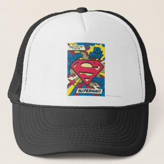 Superman 66 trucker hat