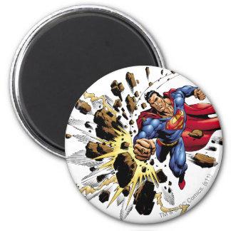 Superman 68 6 cm round magnet