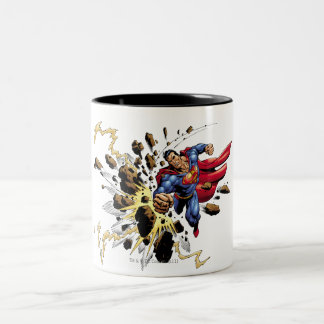 Superman 68 Two-Tone coffee mug