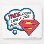 Superman 74 mouse pad