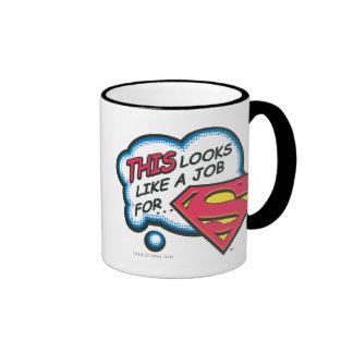 Superman 74 ringer mug