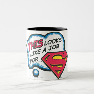 Superman 74 Two-Tone mug