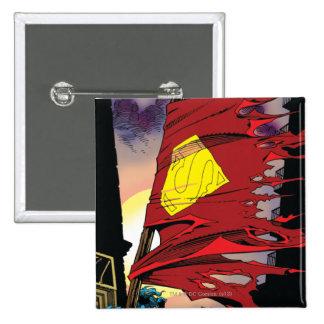 Superman #75 1993 15 cm square badge