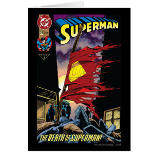 Superman #75 1993 card