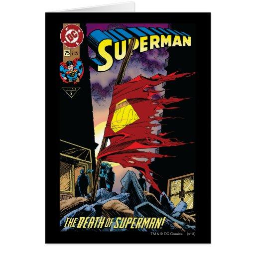 Superman #75 1993 cards