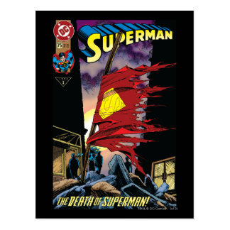Superman #75 1993 postcard
