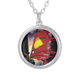 Superman #75 1993 round pendant necklace