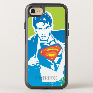 Superman 80's Style OtterBox Symmetry iPhone 8/7 Case