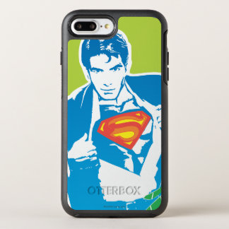 Superman 80's Style OtterBox Symmetry iPhone 8 Plus/7 Plus Case