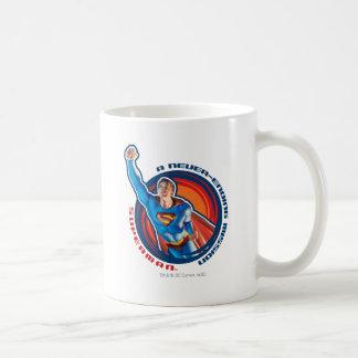 Superman A Never-ending Mission Coffee Mug