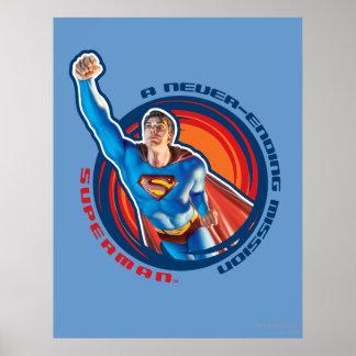 Superman A Never-ending Mission Print