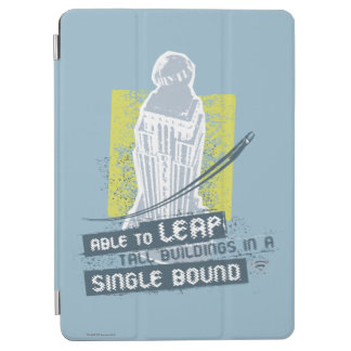 Superman Able to Leap Tall Buildings iPad Air Cover