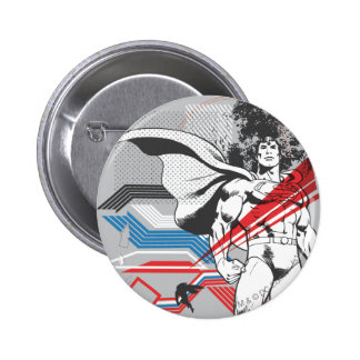 Superman - Absurd Collage Poster Buttons