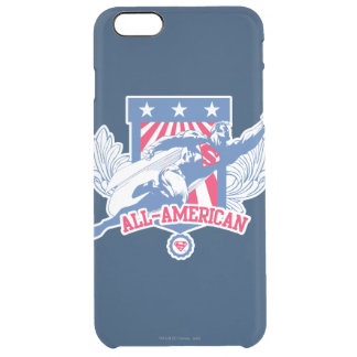 Superman All-American Clear iPhone 6 Plus Case