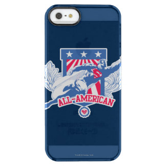 Superman All-American Clear iPhone SE/5/5s Case