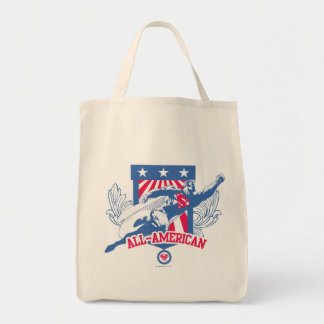 Superman All-American Tote Bag