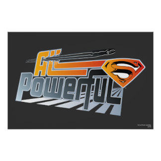Superman All Powerful Poster