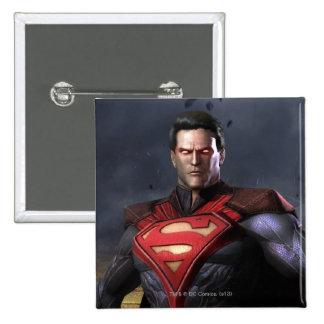 Superman Alternate 15 Cm Square Badge