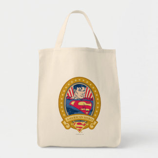 Superman American Hero Tote Bag